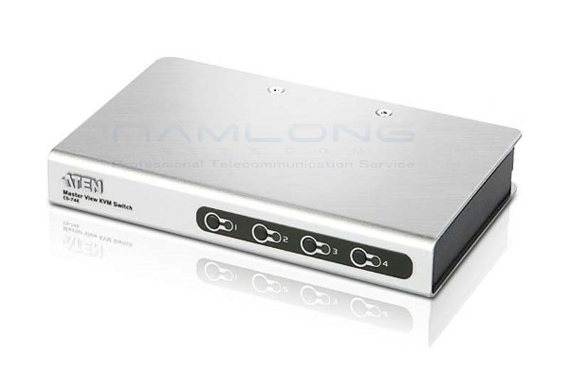 Aten CS74E 4-Port PS/2 VGA Slim KVM Switch