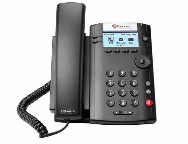 Điện thoại bàn Voip Polycom(poly)