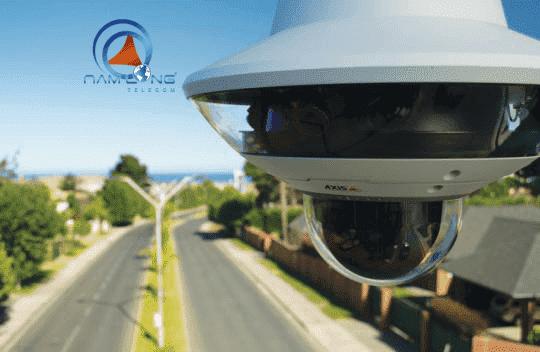 Camera đa hướng Axis với PTZ | Giám sát thời gian thực, quan sát 360 độ và chất lượng sắc nét