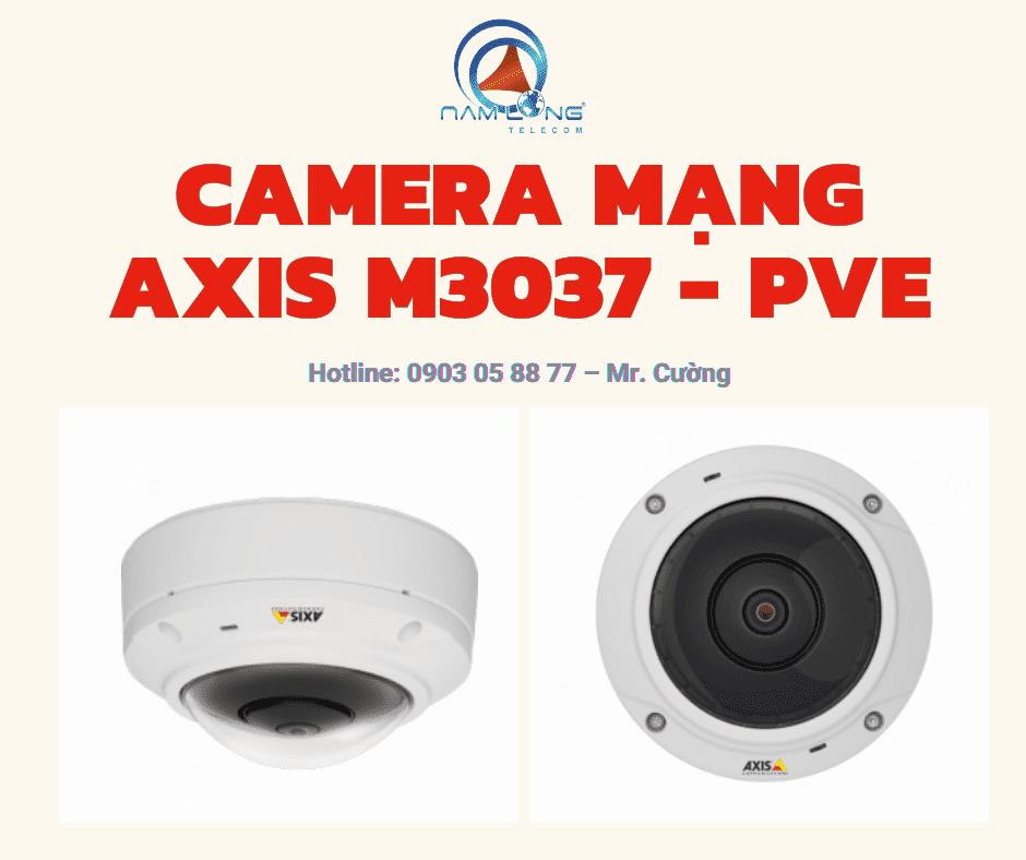 camera mang axis m3037 pve