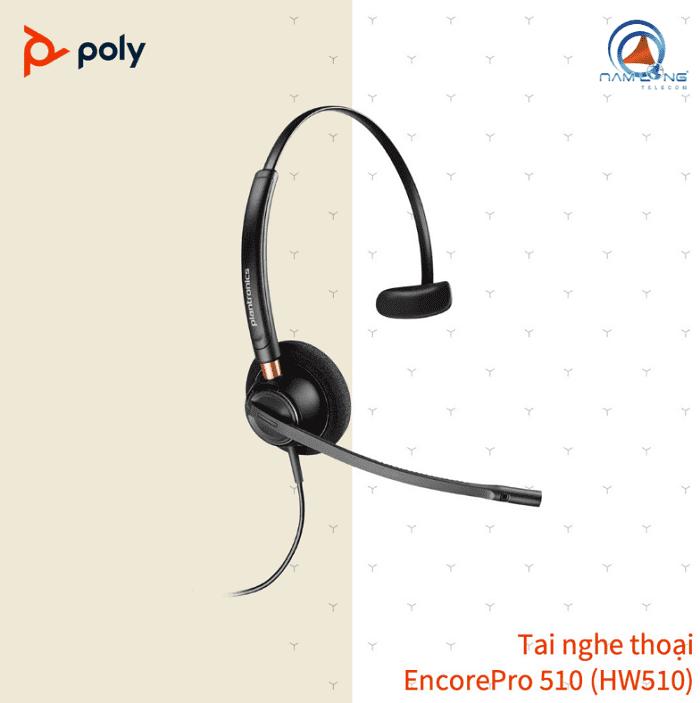Tai nghe Call Center Poly EncorePro 510 (HW510)