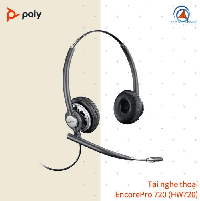 Tai nghe Call Center Poly EncorePro 720 (HW720)