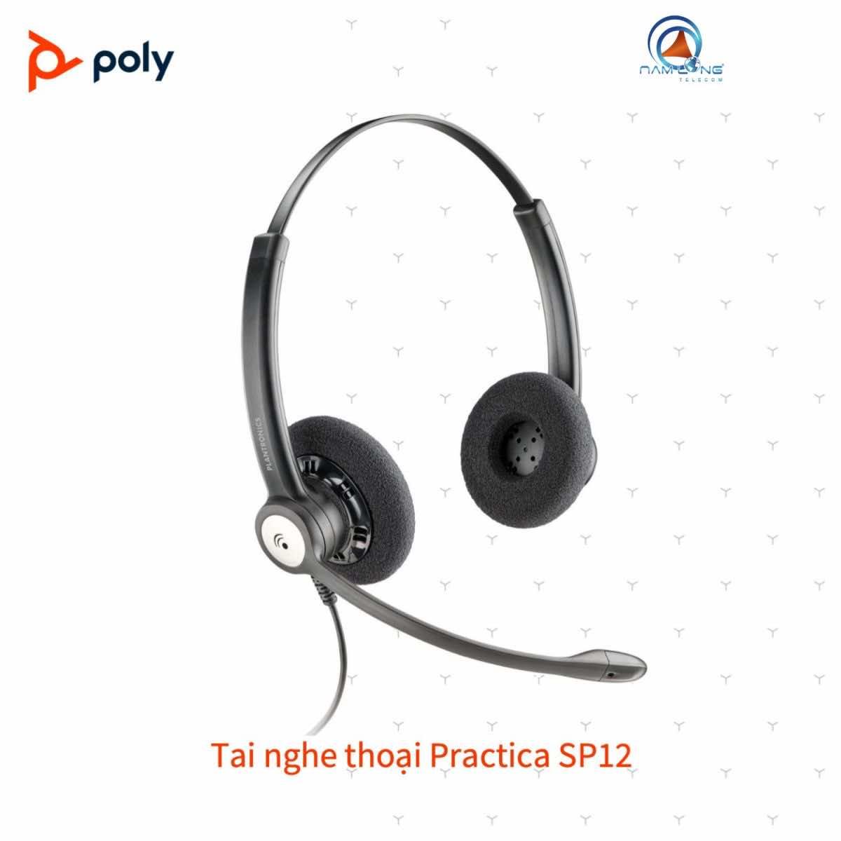 Tai nghe thoại Plantronics Practica SP12-QD